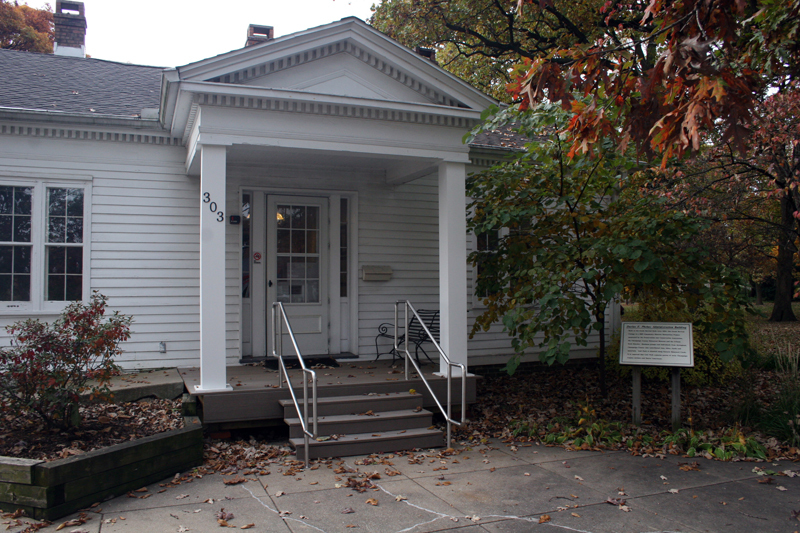 Greek Revival Cottage at Leal Park