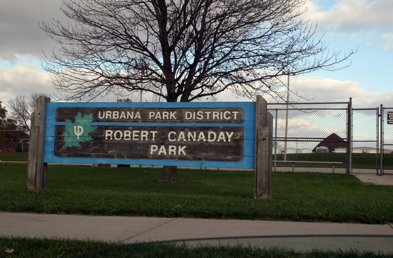 Canaday Park sign