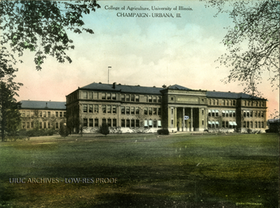 College of Agriculture (Davenport Hall), circa 1910