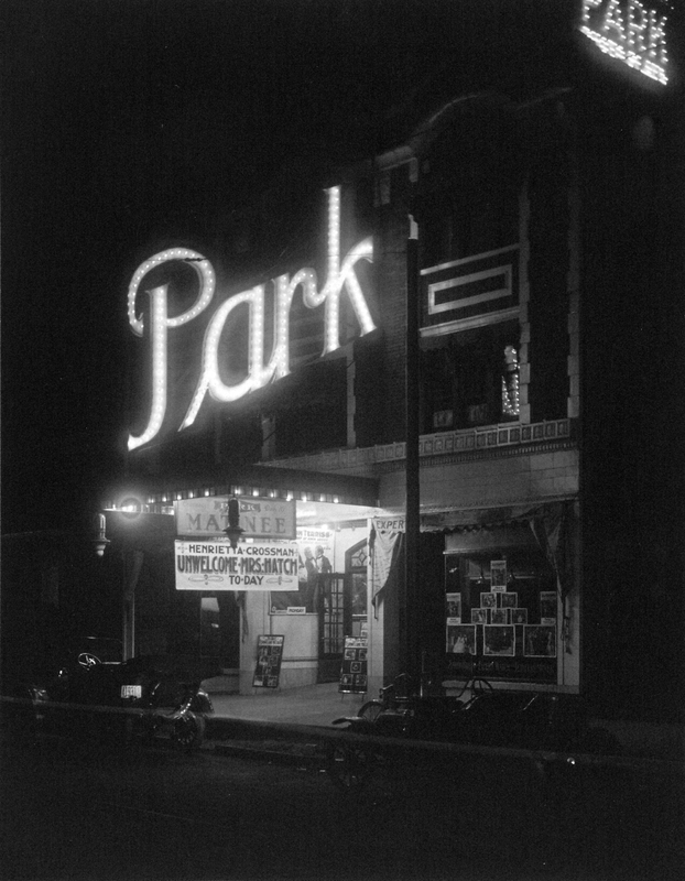 The Park Theater in 1914
