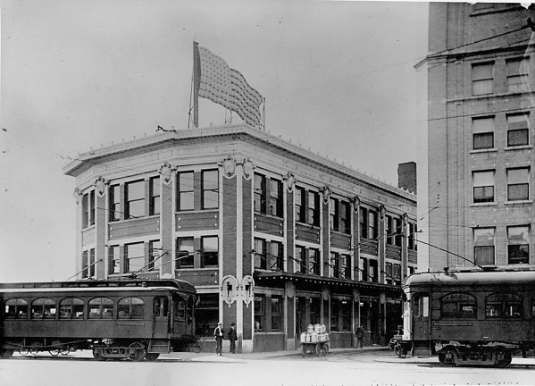 Illinois Traction System Building, taken between 1910 and 1920