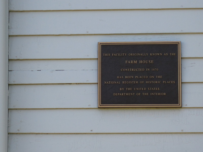 Plaque on Mumford House