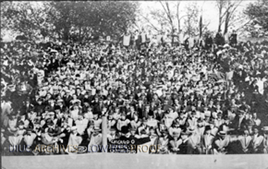 Illinois - Chicago Game Spectators, Oct. 15, 1910