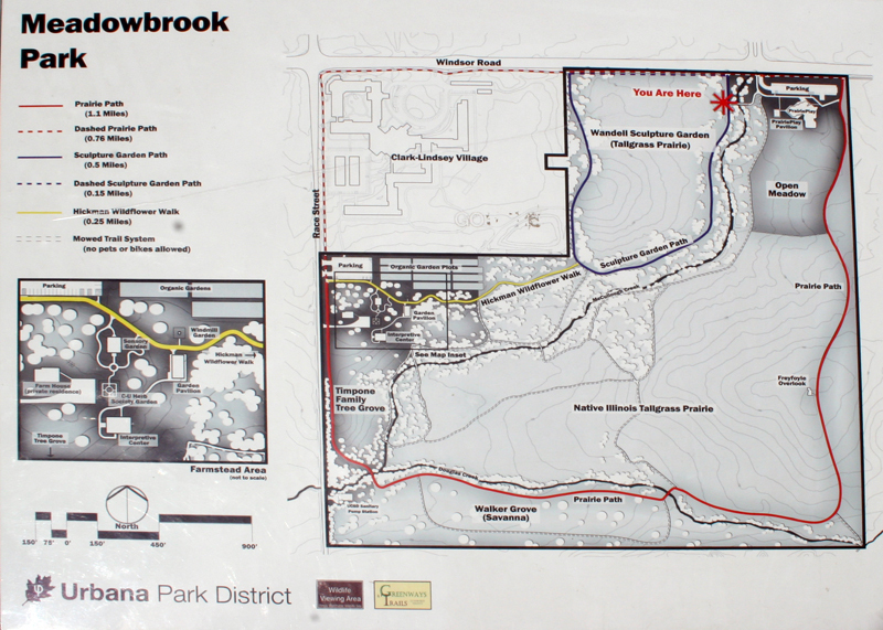 map of Meadowbrook Park
