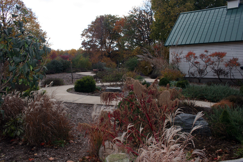 Interpretive Center and garden