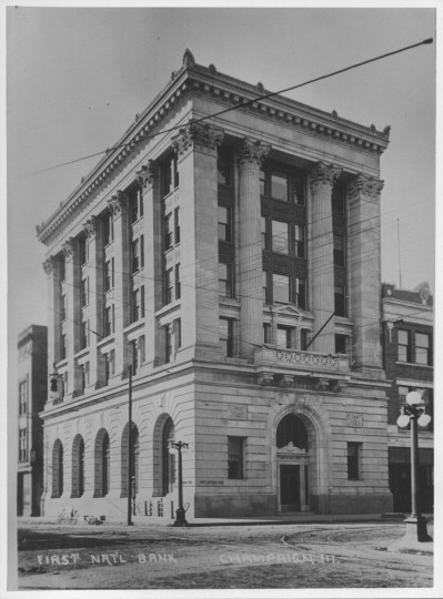 First National Bank of Champaign Building, Champaign