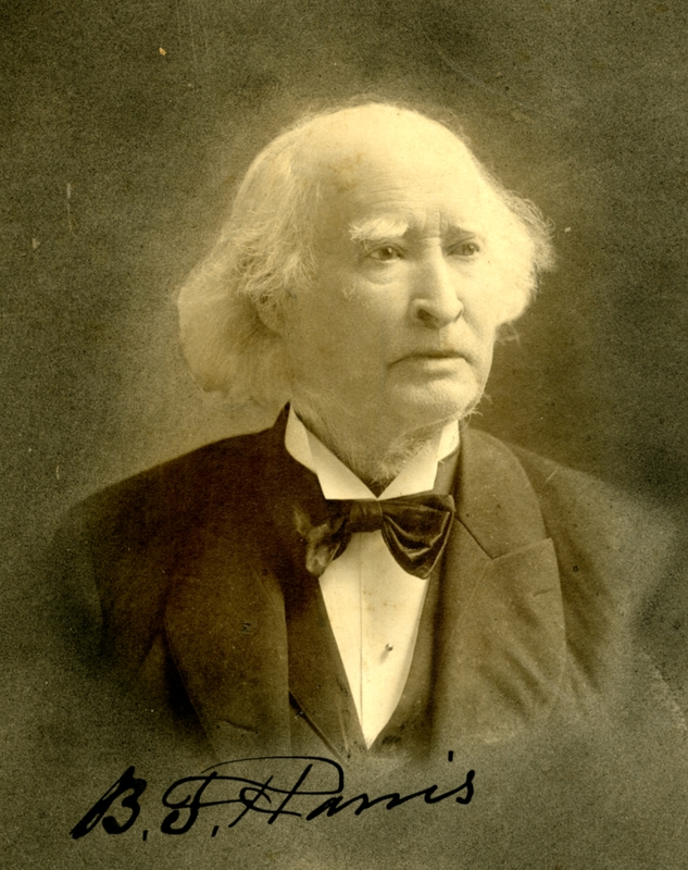 B. F. Harris, founder of the First National Bank of Champaign