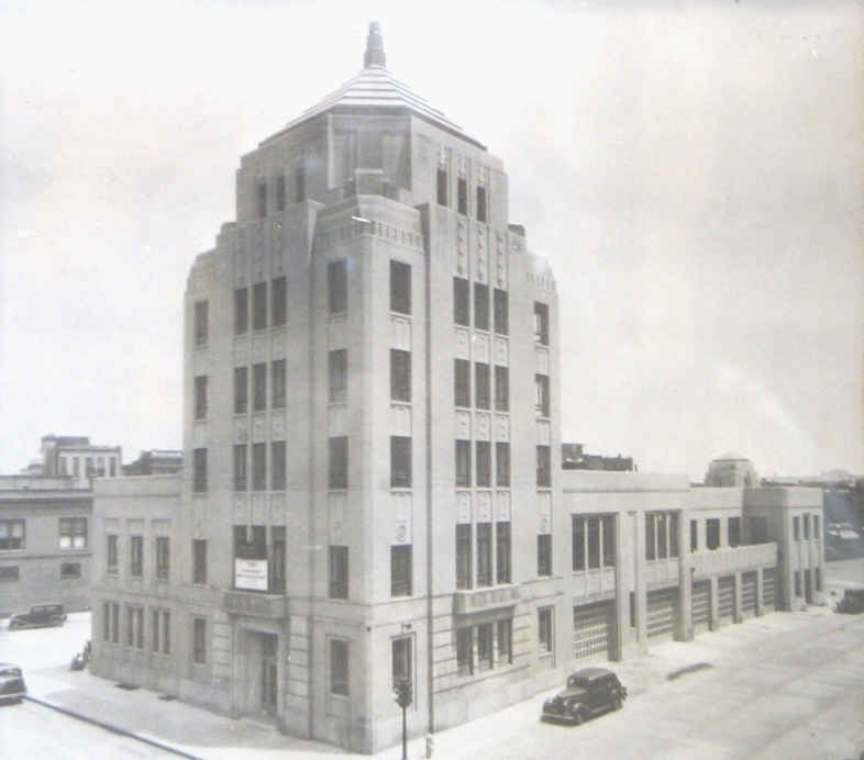 The City Building when it was newly opened.