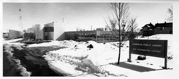 New Champaign Library, 1978