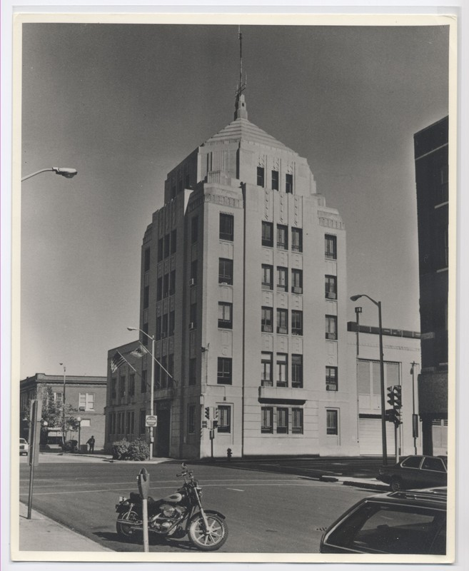 The City Building in 1985