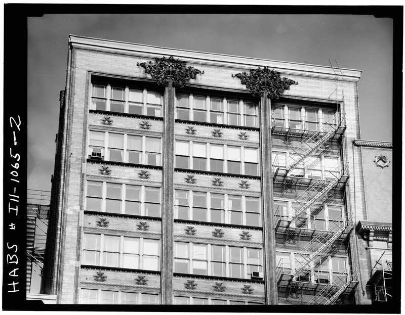 Top four floors of the Gage Building