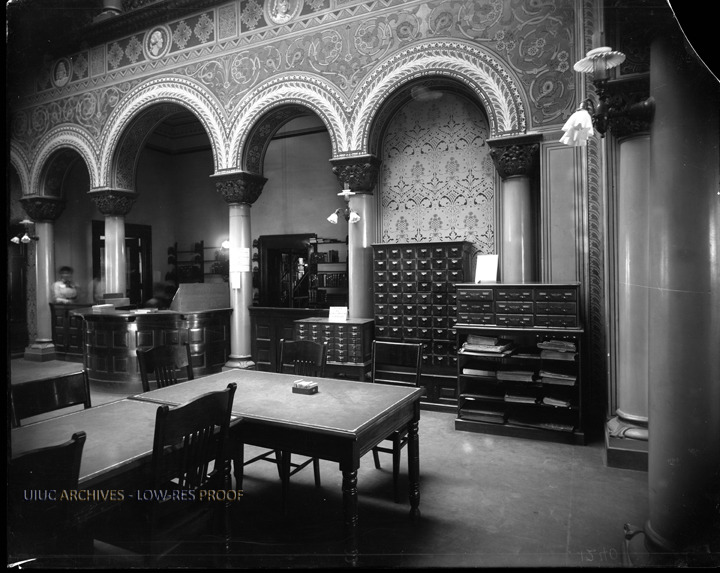 Altgeld Hall Library Card Catalogue, circa 1900