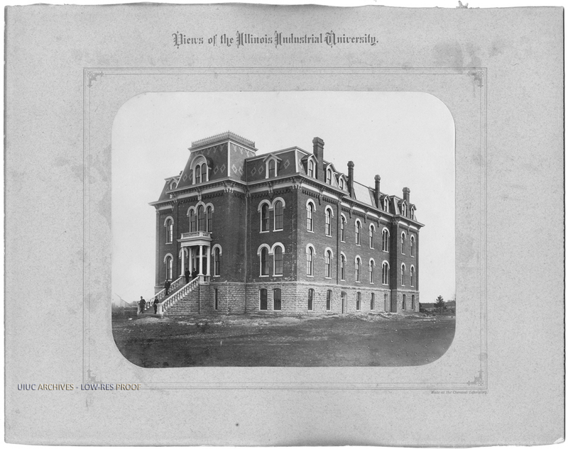 Chemical Laboratory (later named Harker Hall), 1878-1880