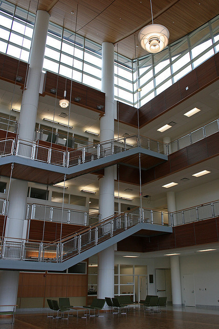 Inside the Business Instructional Facility