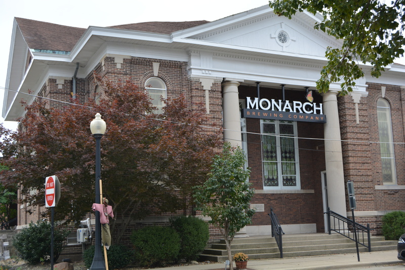 Front of Monarch Brewing Company
