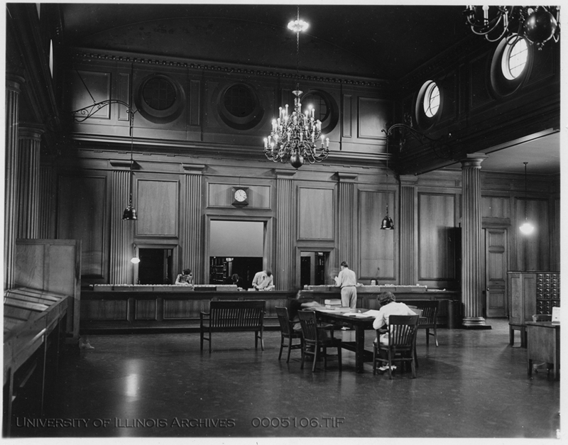 Delivery Room, Library. Jun. 29, 1938