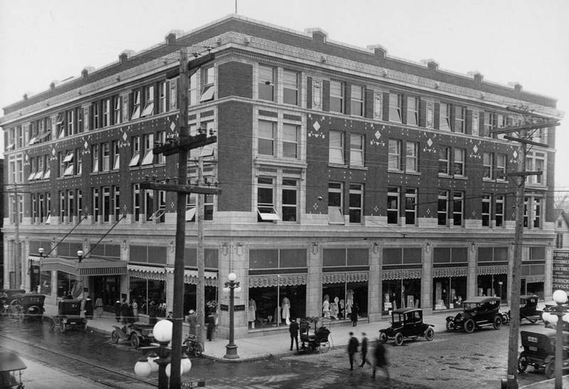 115 North Neil Street, W. Lewis and Company. Southwest Park and Neil Street