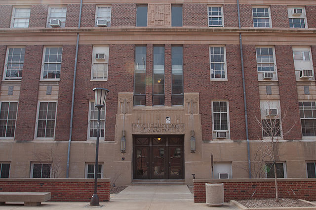 Main entrance of the Chemistry Annex
