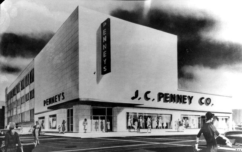 JC Penny Downtown Concept Drawing