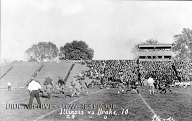 llinois - Drake Football Game, Oct. 8, 1910