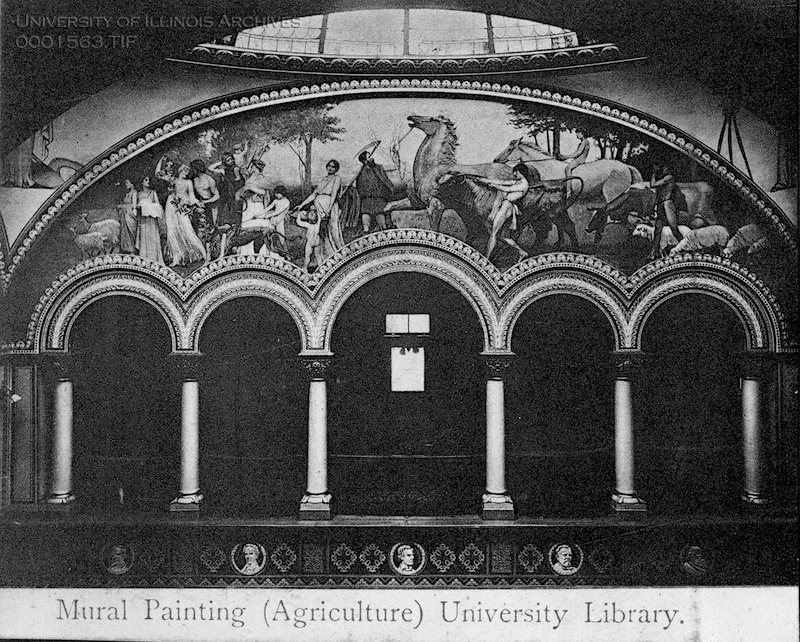 Agriculture Mural Painting, 1910